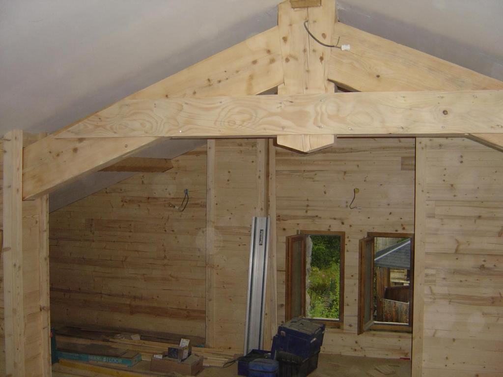 Murs et plafonds en bois r nov 39 cr ation for Habillage mur cuisine